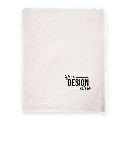 Port Authority Ultra Plush Blanket - Marshmallow
