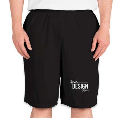 Augusta Performance Pocket Shorts - Black