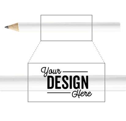 Golf Pencil - White