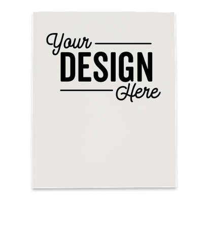 Full Color Paper Folder - White