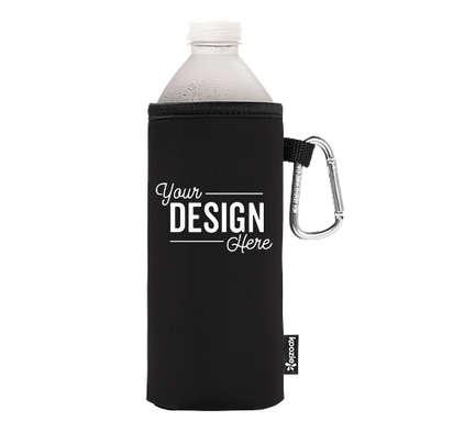 KOOZIE® Collapsible Bottle Kooler - Black