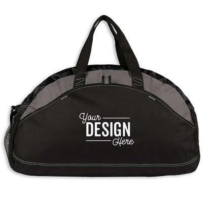 Port Authority Contrast Duffel Bag - Black