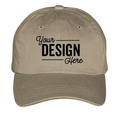 Yupoong Cotton Twill Hat - Khaki