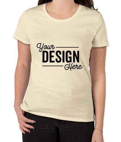 Royal Apparel Women's USA-Made Slim Fit Organic T-shirt - Natural