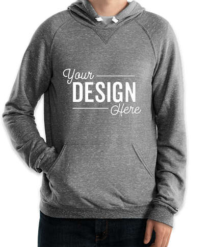 Jerzees Snow Heather French Terry Pullover Hoodie - Charcoal