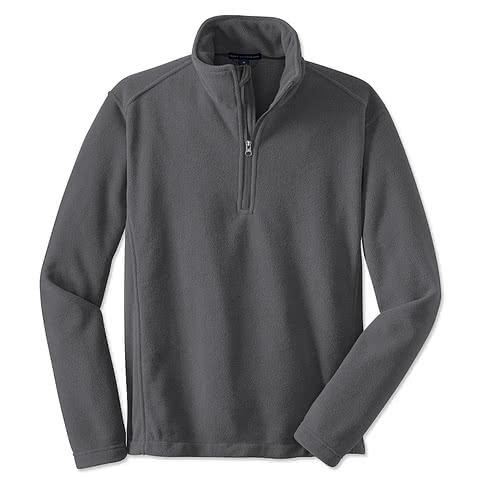 Port Authority Value Quarter Zip Fleece Pullover
