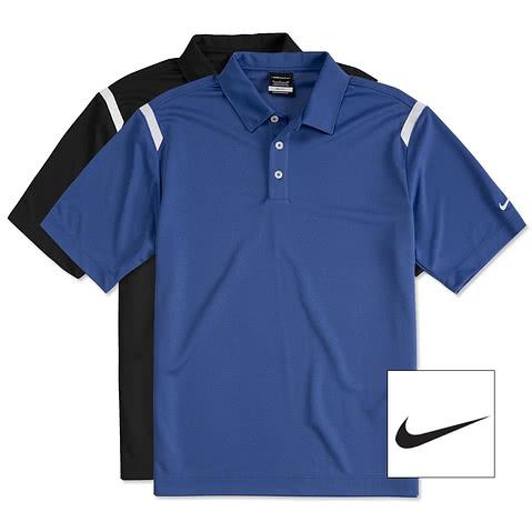 Nike Golf Dri-FIT Shoulder Stripe Performance Polo