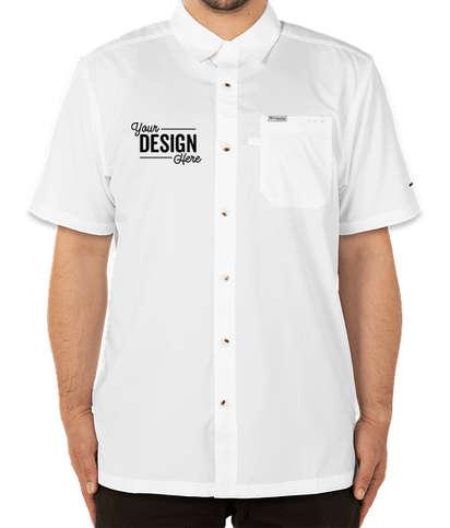 Columbia Slack Tide Short Sleeve Shirt - White