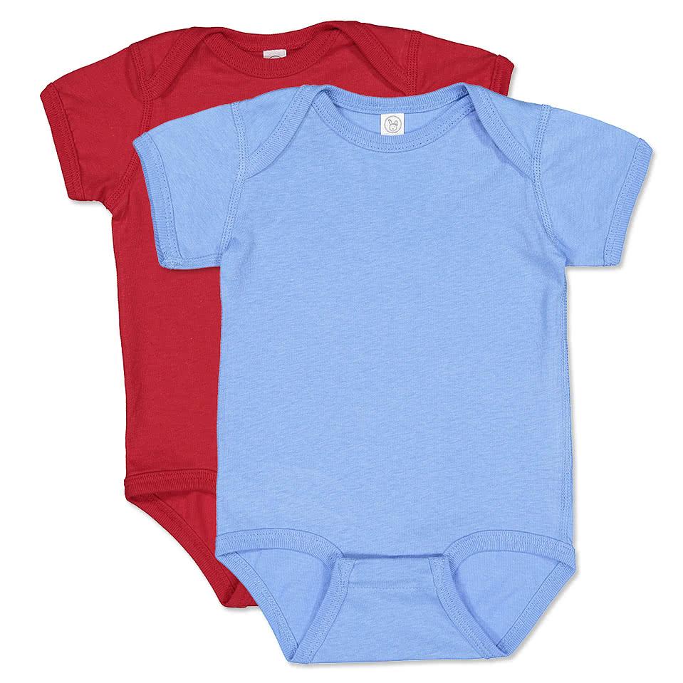 Design t shirt baby - Rabbit Skins Infant Jersey One Piece