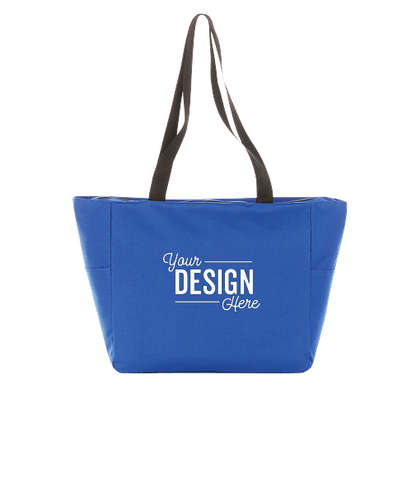 Essential Zip Convention Tote Bag - Royal Blue