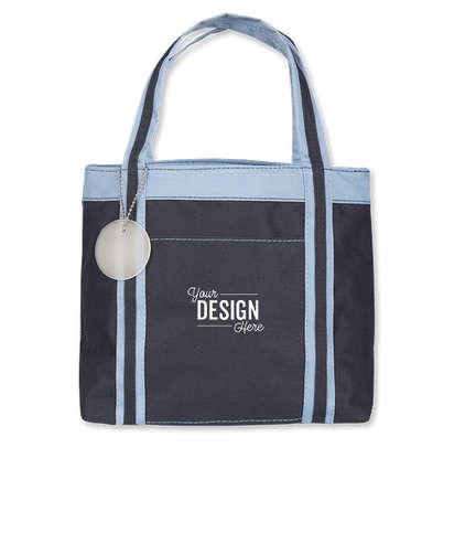Piccolo Mini Tote Bag - Navy / Sky Blue