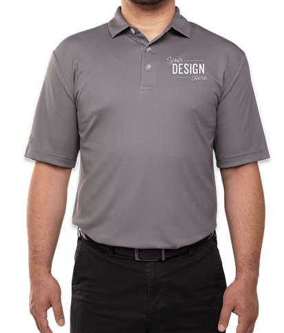 Callaway Textured UPF 50 Performance Polo - Quiet Shade