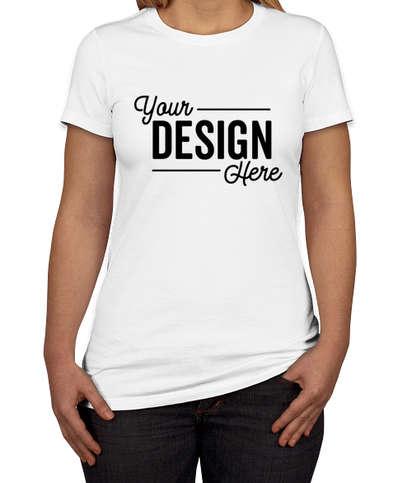 Bella + Canvas Women's Slim Fit Favorite T-shirt - White