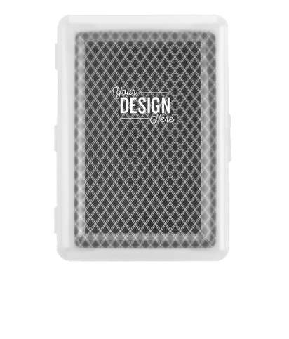 Playing Cards in Case - Black