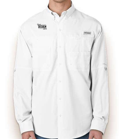 Columbia Tamiami Long Sleeve Shirt - White