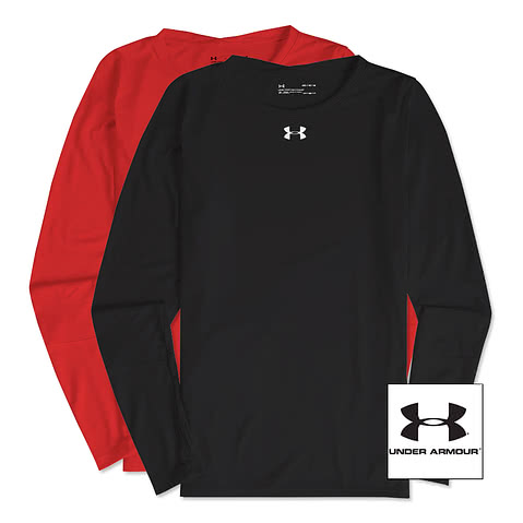 Under Armour Women's Long Sleeve Locker Performance Shirt 2.0