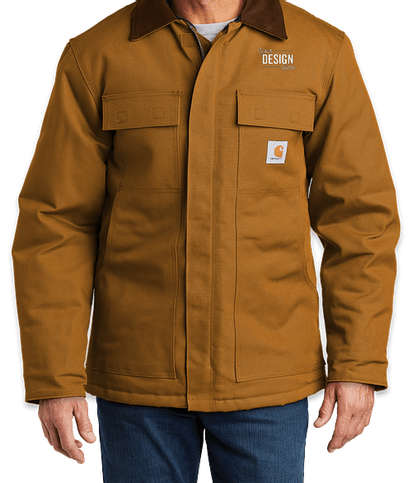 Carhartt Duck Traditional Coat - Carhartt Brown