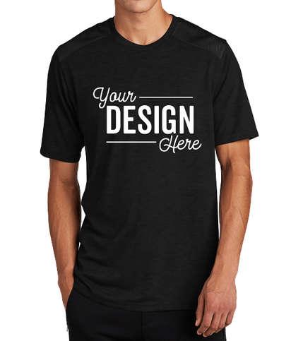 Sport-Tek Tri-Blend Draft Performance Shirt - Black Triad Solid