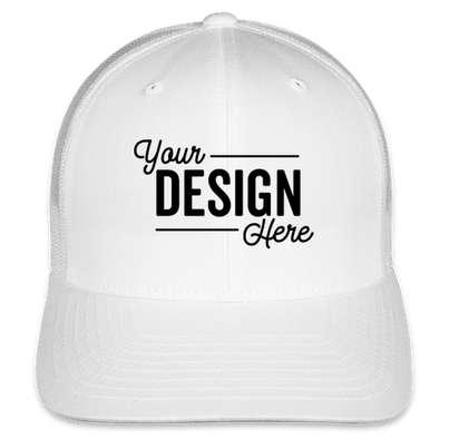 Yupoong Retro Trucker Hat - White