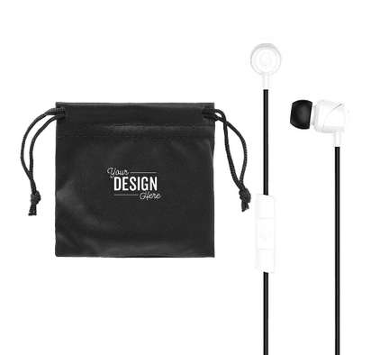 Skullcandy Jib Wired Earbuds with Microphone - White