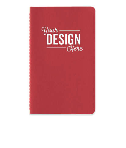 Moleskine Soft Cover Ruled Notebook - Cranberry Red