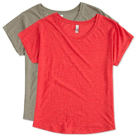 Next Level Women's Tri-Blend Dolman T-shirt