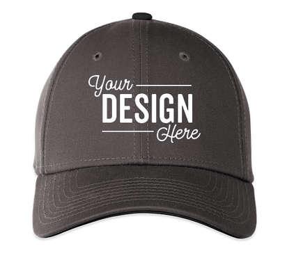 New Era 39THIRTY Stretch Fit Hat - Graphite / Black