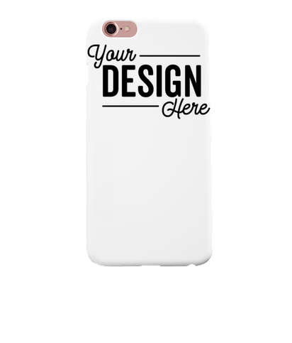 Full Color iPhone 6+ Slim Phone Case - White
