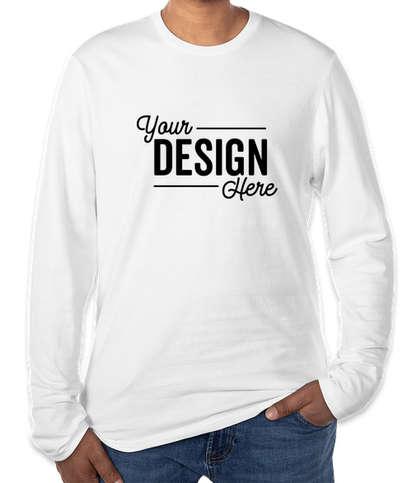 District V.I.T. Long Sleeve T-shirt - White