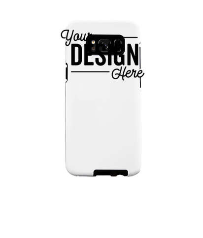 Full Color Galaxy S8 Tough Phone Case - White