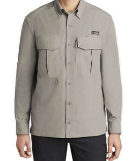 Eddie Bauer Performance Long Sleeve Fishing Shirt