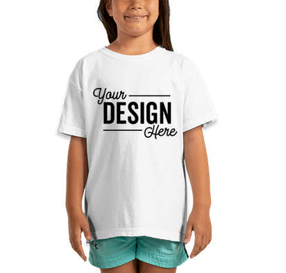 Comfort Colors Youth 100% Cotton T-shirt - White