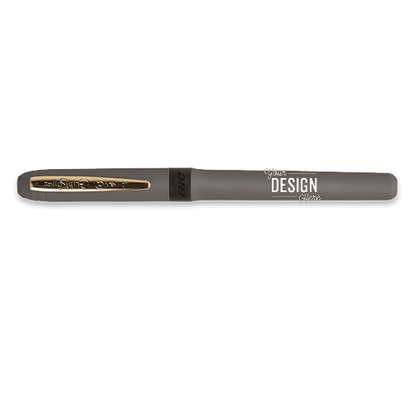 BIC Grip Roller Gold Pen (black ink) - Charcoal