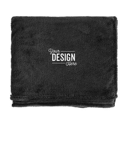 Kanata Soft Touch Velura Blanket - Black