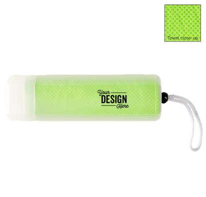 Sport Cooling Towel - Lime