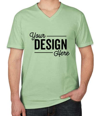 Next Level Jersey Blend V-Neck T-shirt - Mint