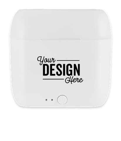 Full Color Essos True Wireless Bluetooth Earbuds - White