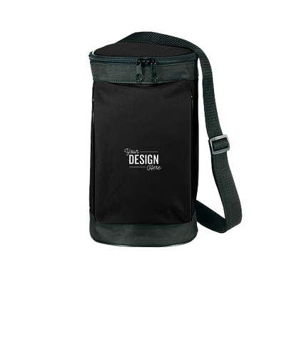 Golf Bag 6 Can Cooler - Black