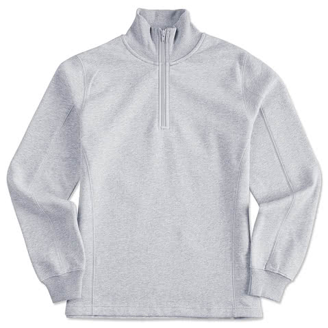 Sport-Tek Premium Women's Quarter Zip Sweatshirt