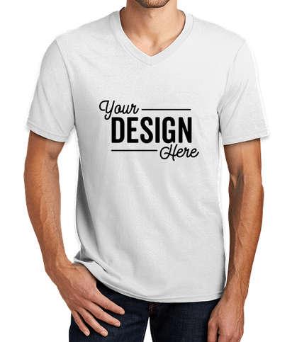 District V.I.T. V-Neck T-shirt - White