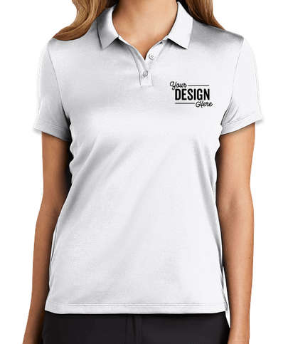 Nike Women's Dry Essential Polo - White
