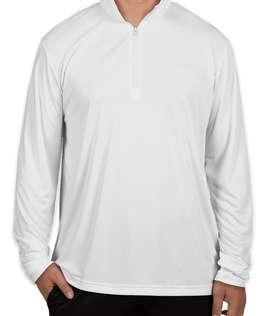 Sport-Tek Competitor Quarter Zip Performance Shirt
