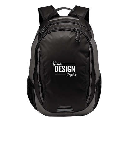 Port Authority Ridge Backpack - Dark Charcoal / Charcoal