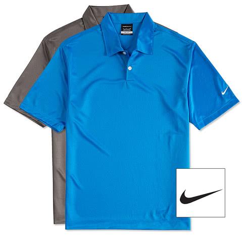 Nike Golf Pebble Textured Performance Polo