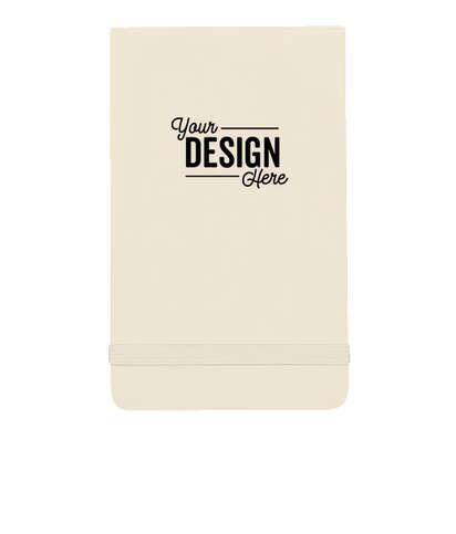 Full Color Jotter Notebook - White