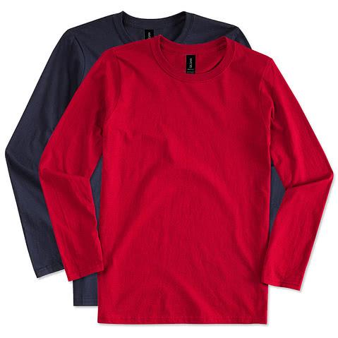 Canada - Gildan Softstyle Long Sleeve Jersey T-shirt
