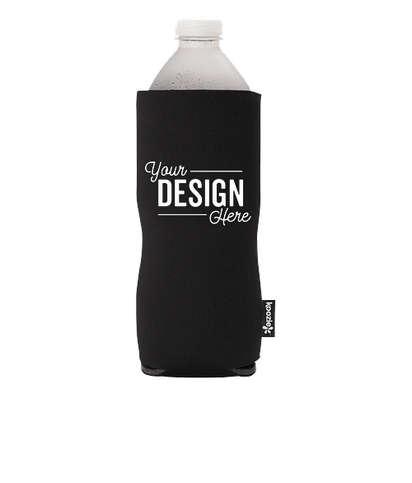 KOOZIE® Basic Collapsible Bottle Kooler - Black
