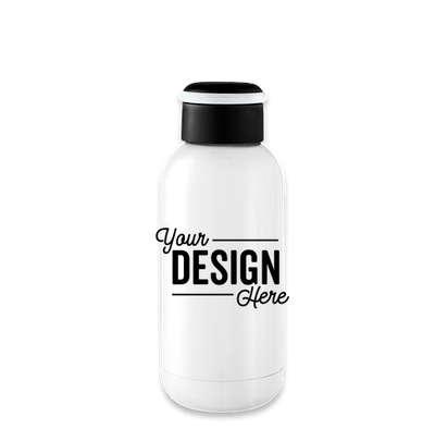 12 oz. Mini Copper Vacuum Insulated Water Bottle - White