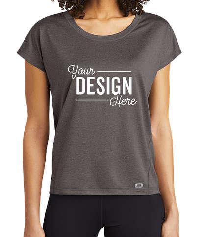 OGIO Women's Endurance Pulse Performance Shirt - Gear Grey