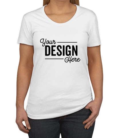 American Apparel Women's Slim Fit 50/50 T-shirt - White